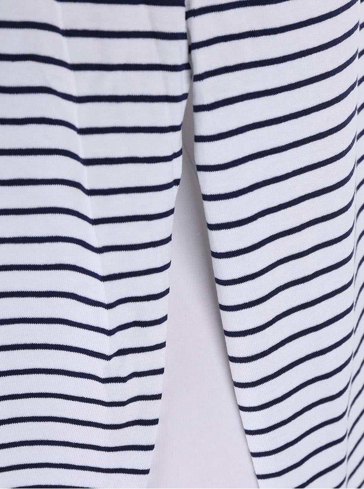 Bílý pruhovaný top Haily´s Nora