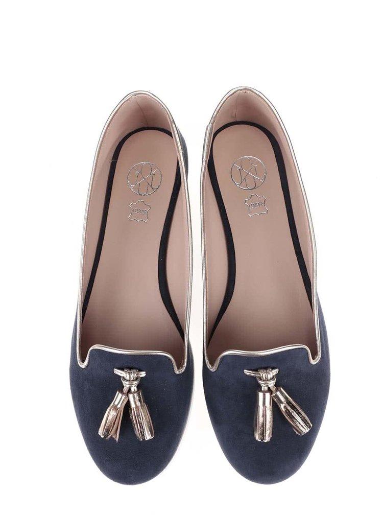 Tmavě modré loafers OJJU