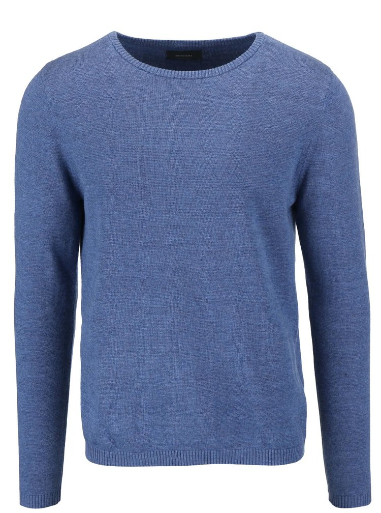 Bluză Bertoni Lukas albastră