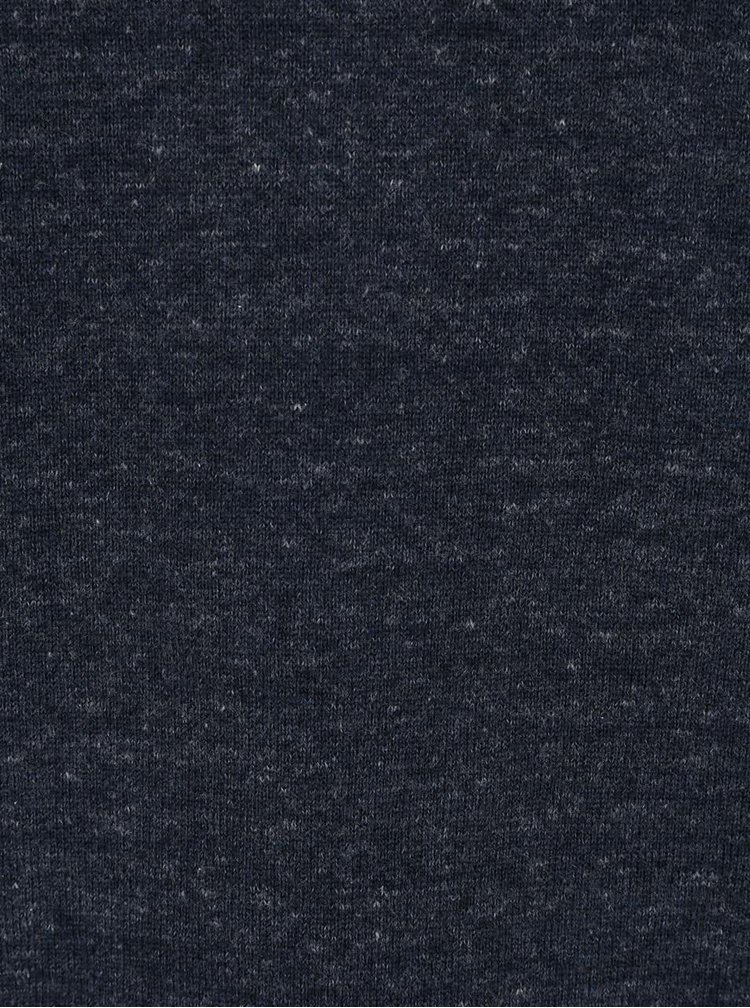 Tmavě modrý lehký svetr Bertoni Frederik