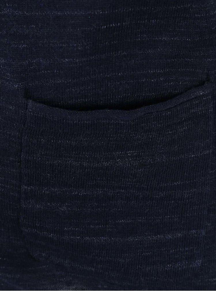 Tmavě modrý cardigan Selected Homme Farley