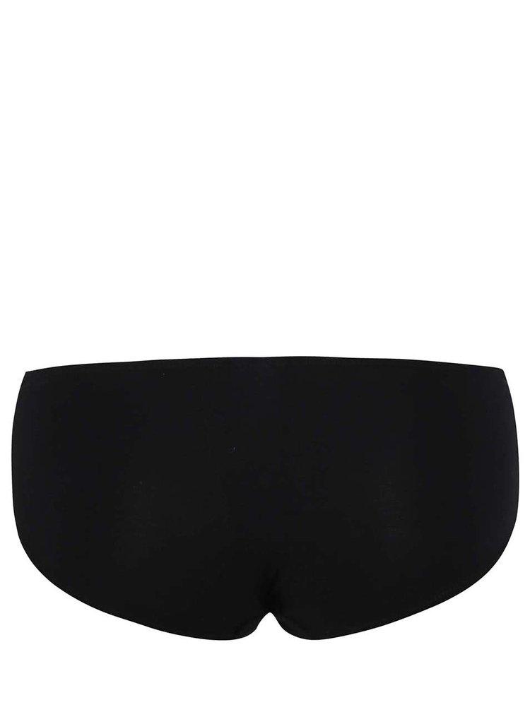 Černé kalhotky s krajkovým lemem Haily´s Nancy