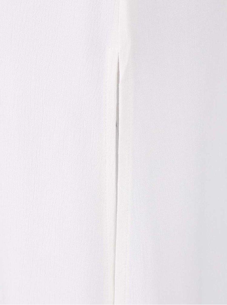 Krémová dlouhá košile bez rukávů Dorothy Perkins