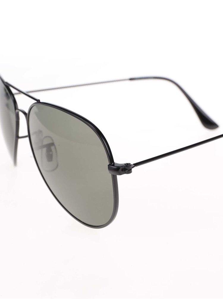 Čierne okrúhle okuliare Selected Homme Adriano