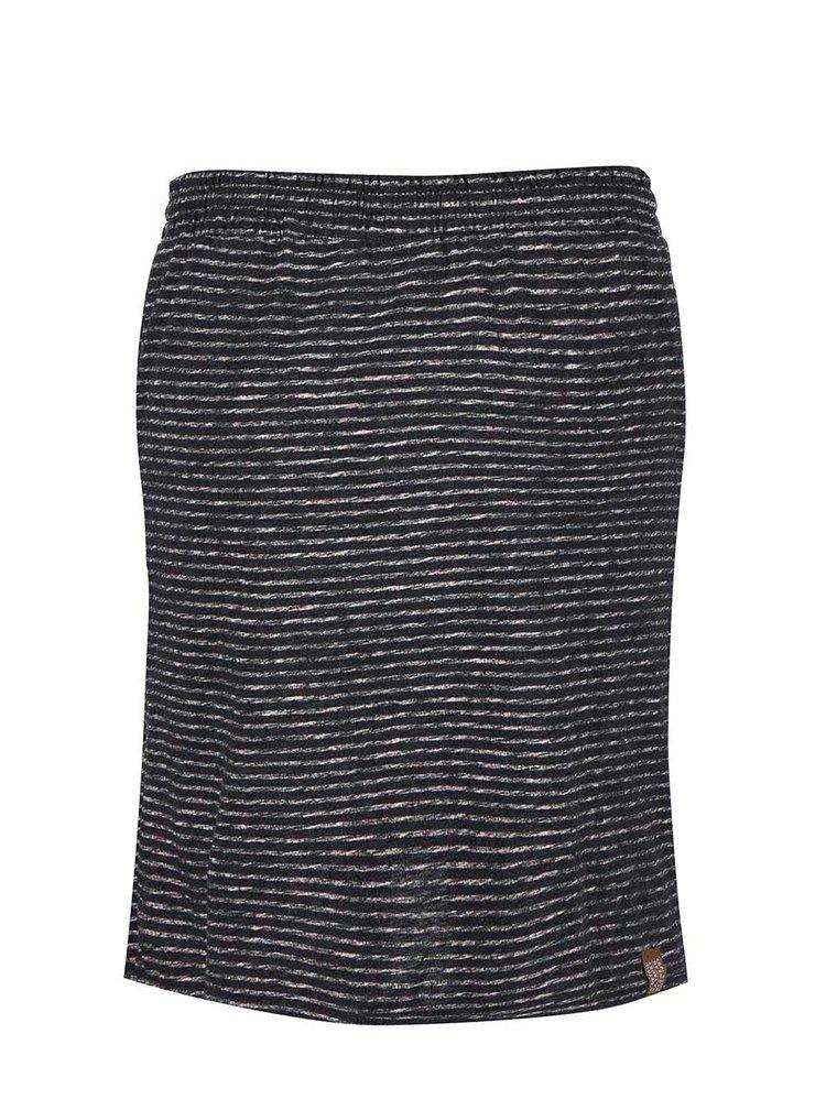 Tmavě šedá pruhovaná sukně Ragwear Naila