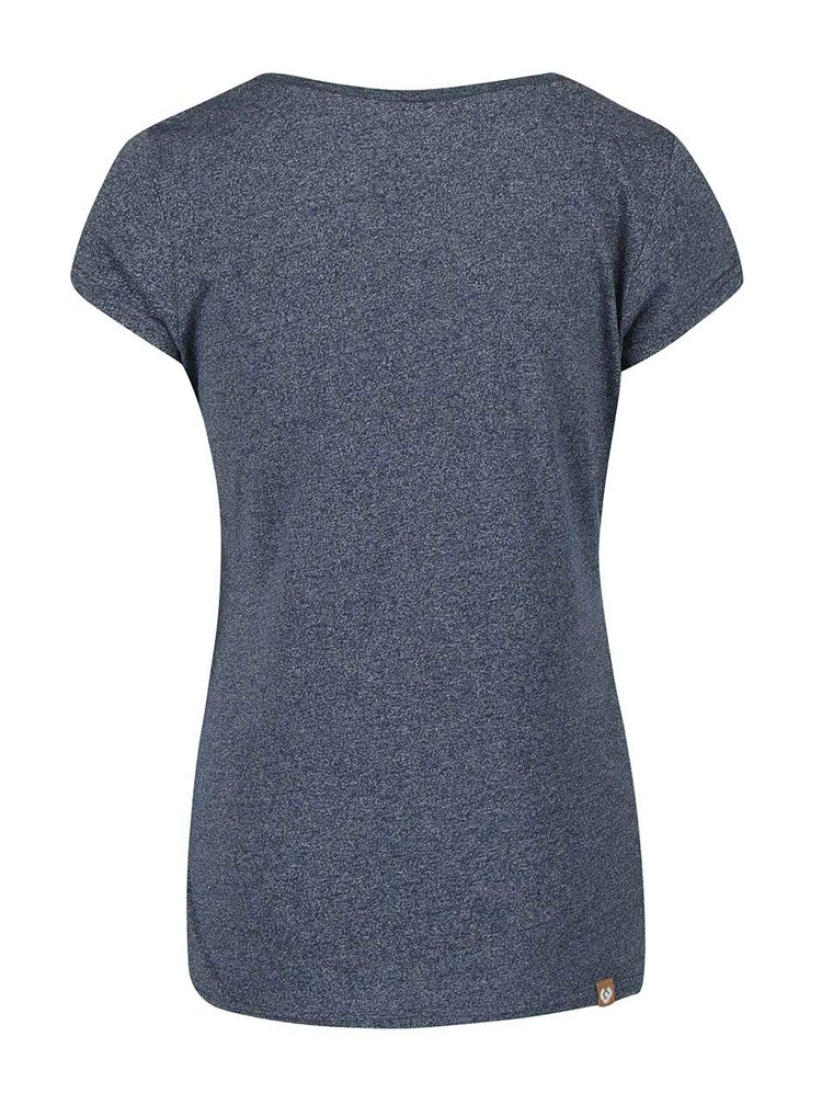 Modré dámske žíhané tričko Ragwear Mint