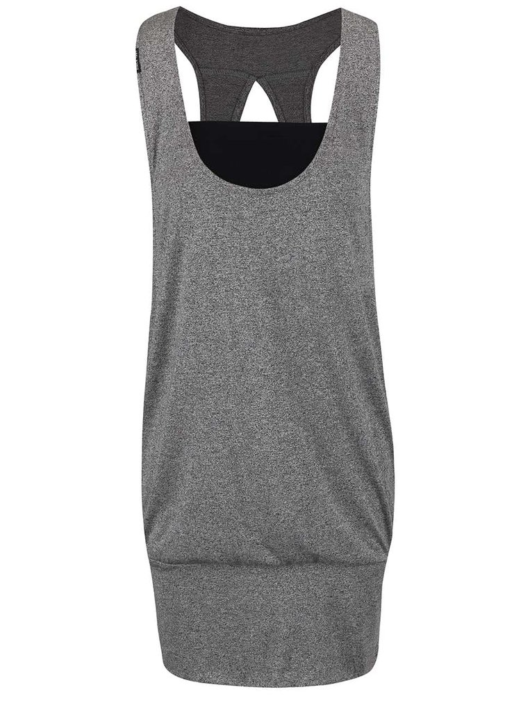 Čierne žíhané šaty Ragwear Janet