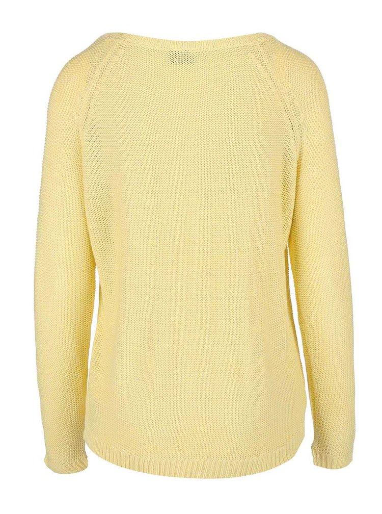 Žlutý svetr VILA Diga