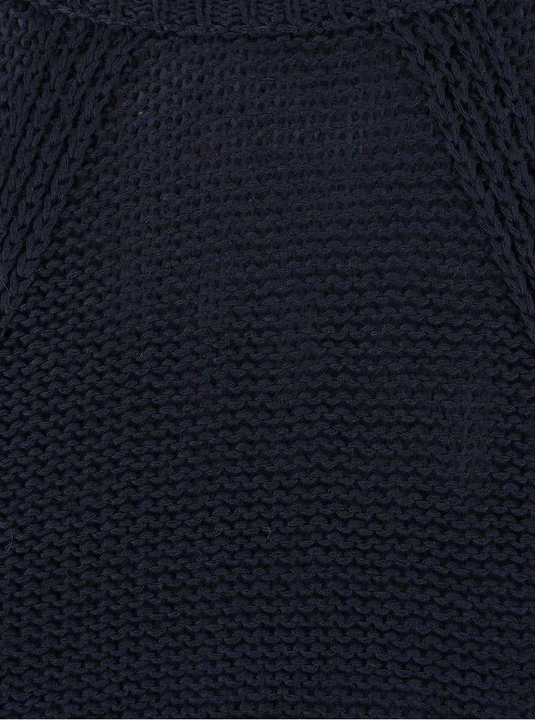 Tmavě modrý svetr VILA Diga