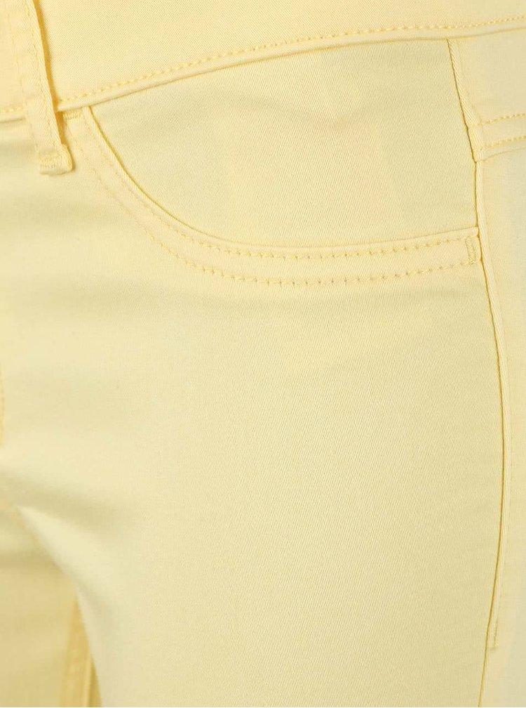 Žluté úzké kalhoty VILA Commit