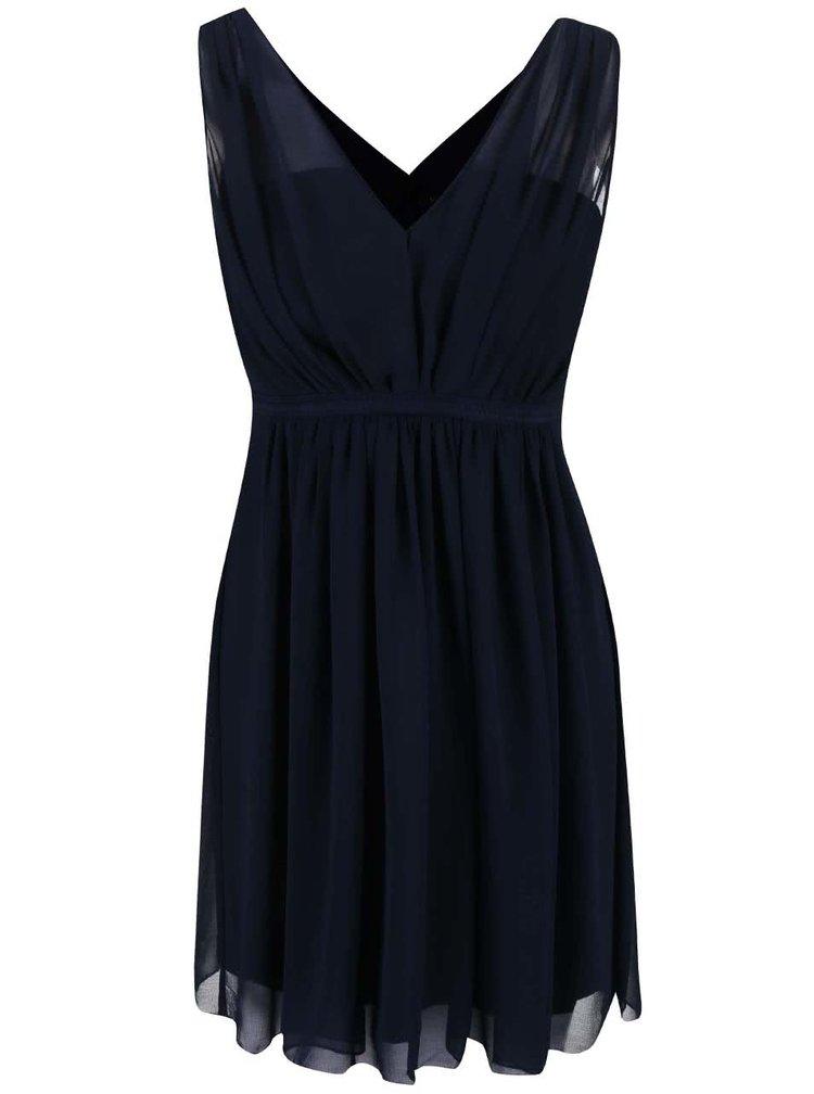 Tmavě modré šaty VILA Cotina