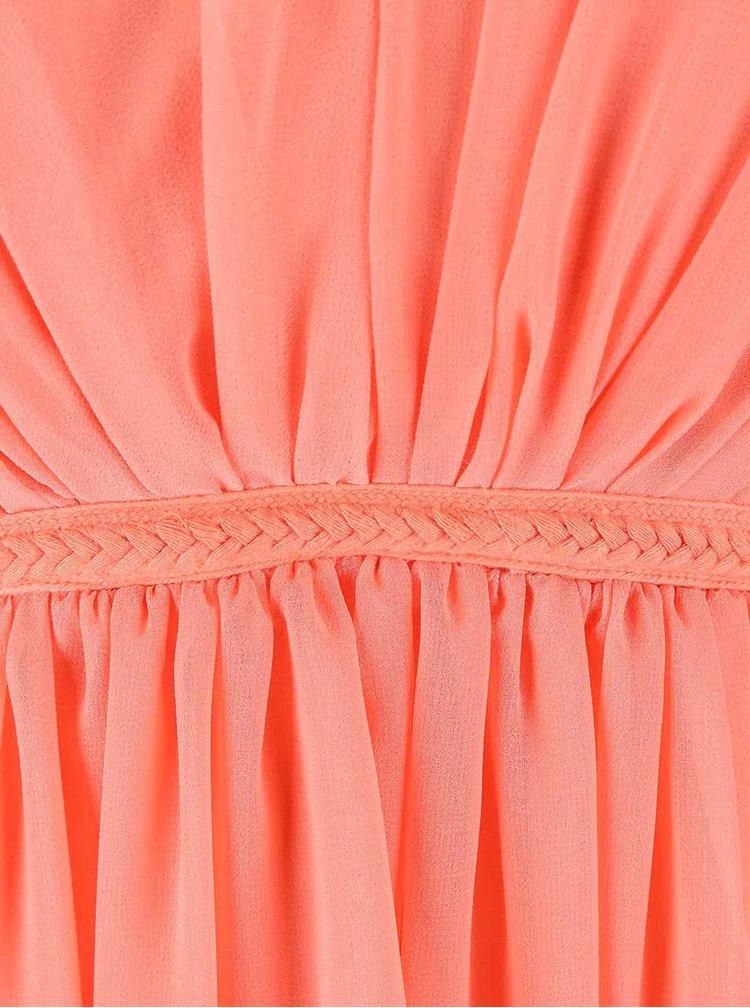 Korálové šaty VILA Cotina