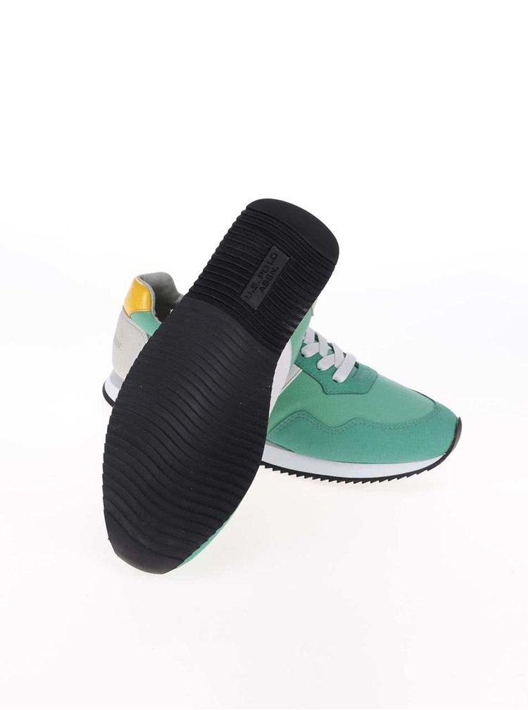 Pantofi sport U.S. Polo Assn. Natts gri/verde