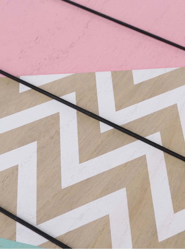 Dřevěný vzorovaný fotorámeček Helio Ferretti