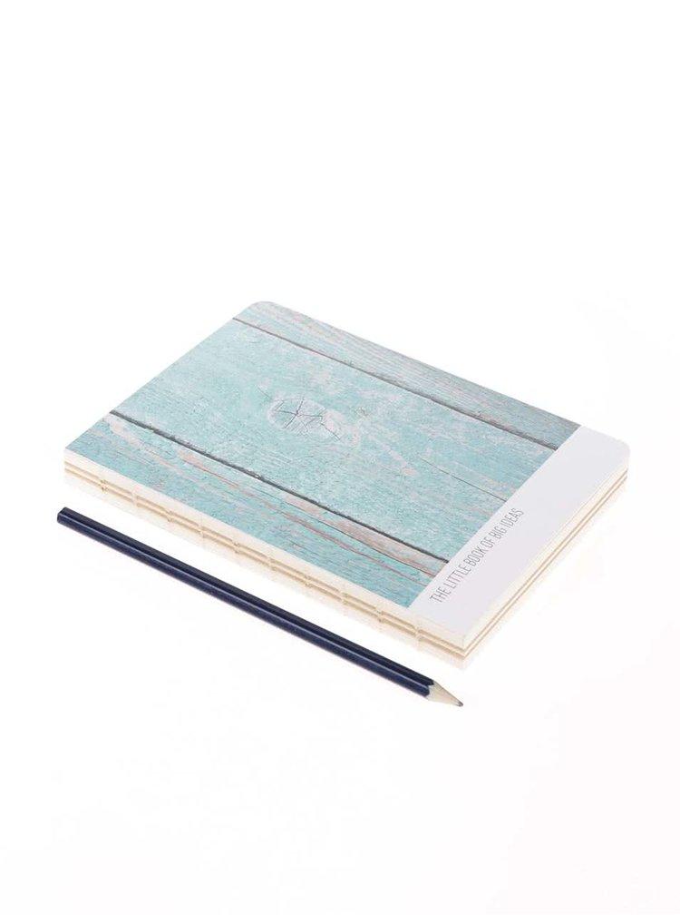 Notepad Helio Ferretti Big Ideas albastu