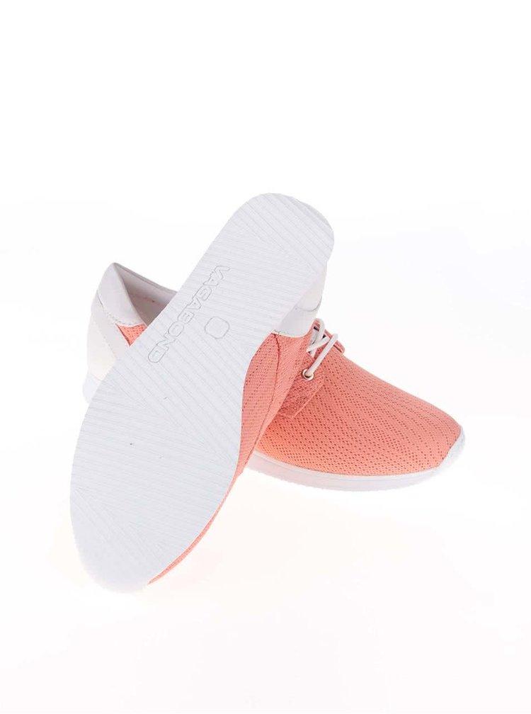 Bielo-marhuľové tenisky Vagabond Kasai