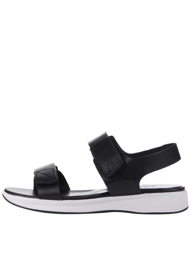 Čierne sandále Vagabond Daria