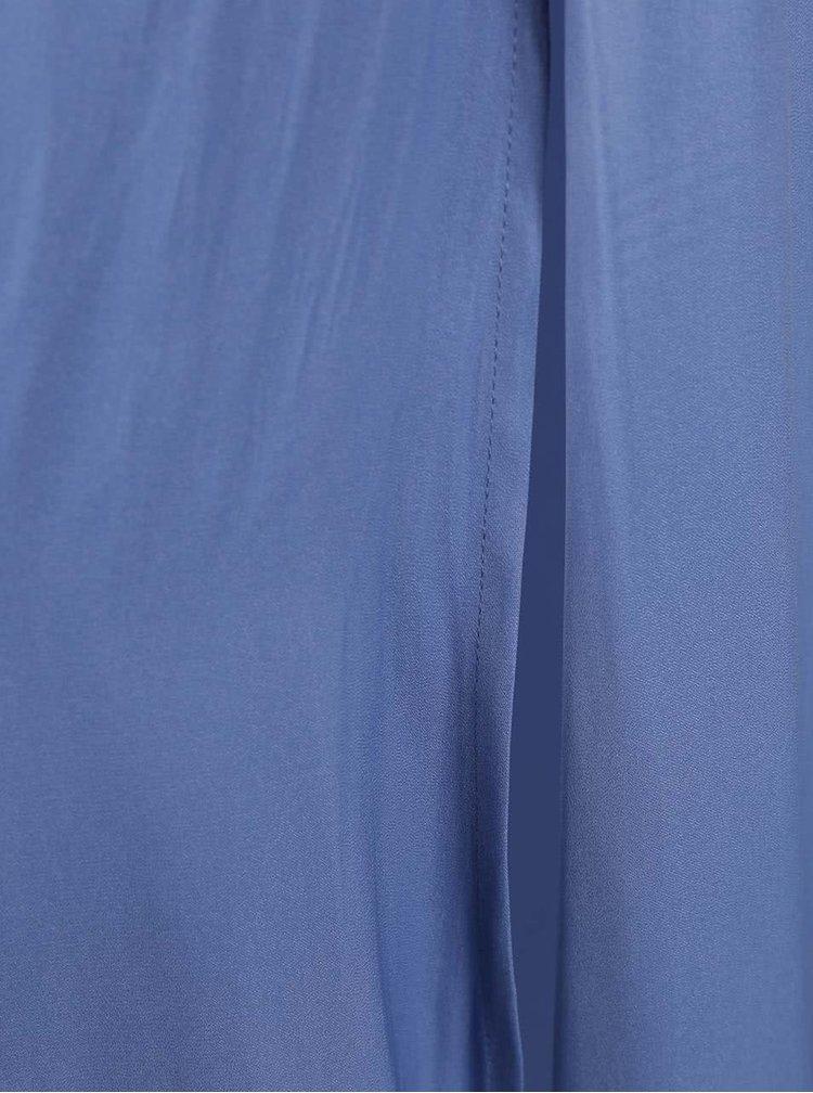 Modrá dlhá sukňa VERO MODA Nellie