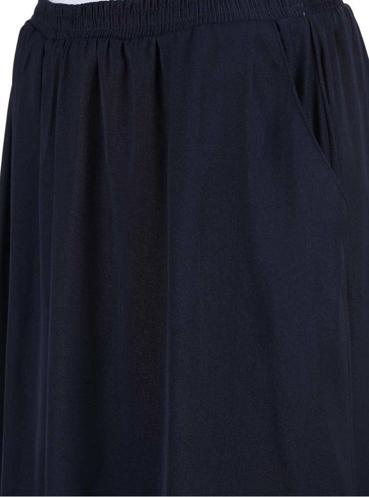 Tmavě modrá sukně VERO MODA Nellie