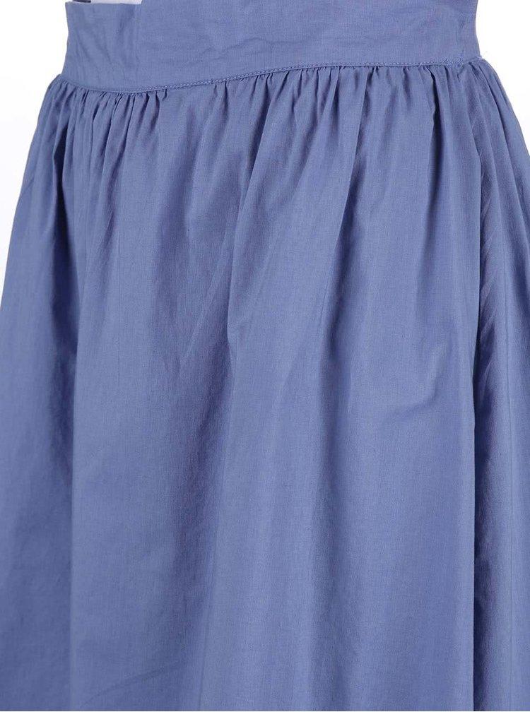 Fustă VERO MODA Cambric albastră