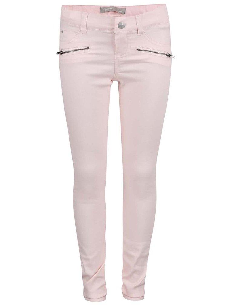 Světle růžové holčiči džíny name it Gazippa