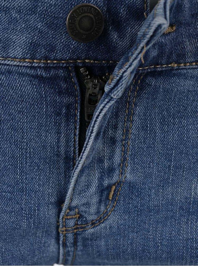 Světle modré úzké džíny VERO MODA Five