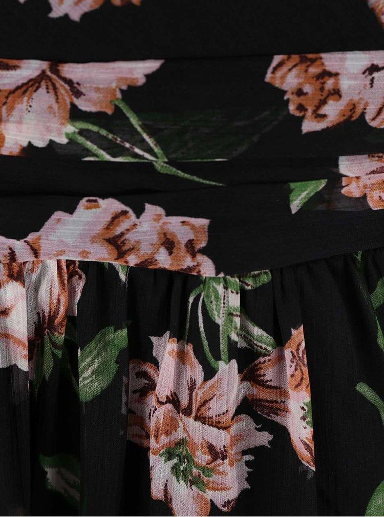 Rochie cu imprimeu floral VERO MODA Josephine neagră