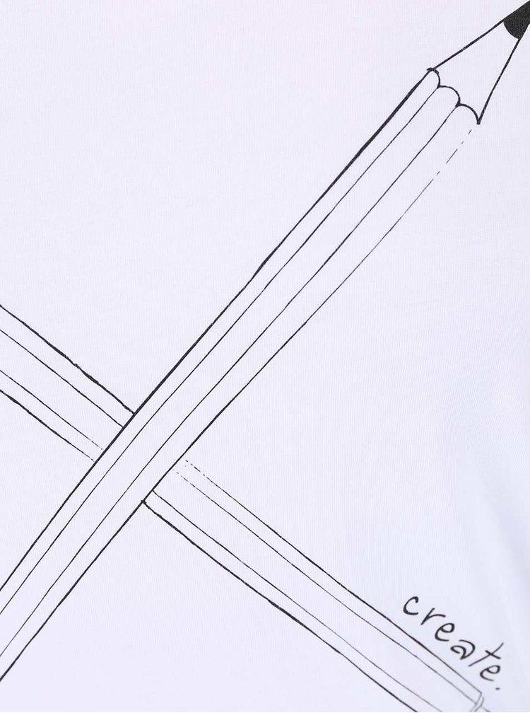 Bílé dámské tričko ZOOT Originál Create
