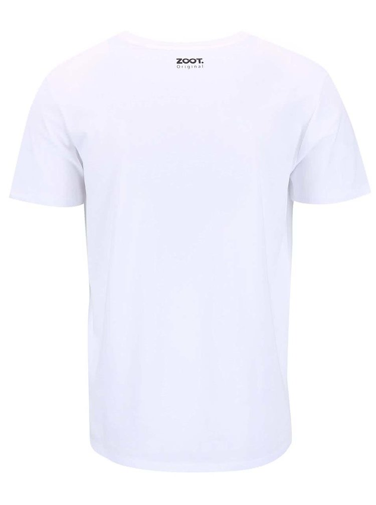 Bílé pánské triko ZOOT Originál Diskobolos Selfie