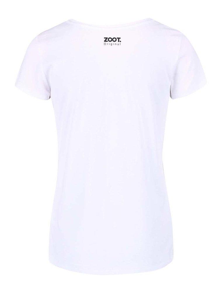 Bílé dámské tričko ZOOT Originál Kompozícia