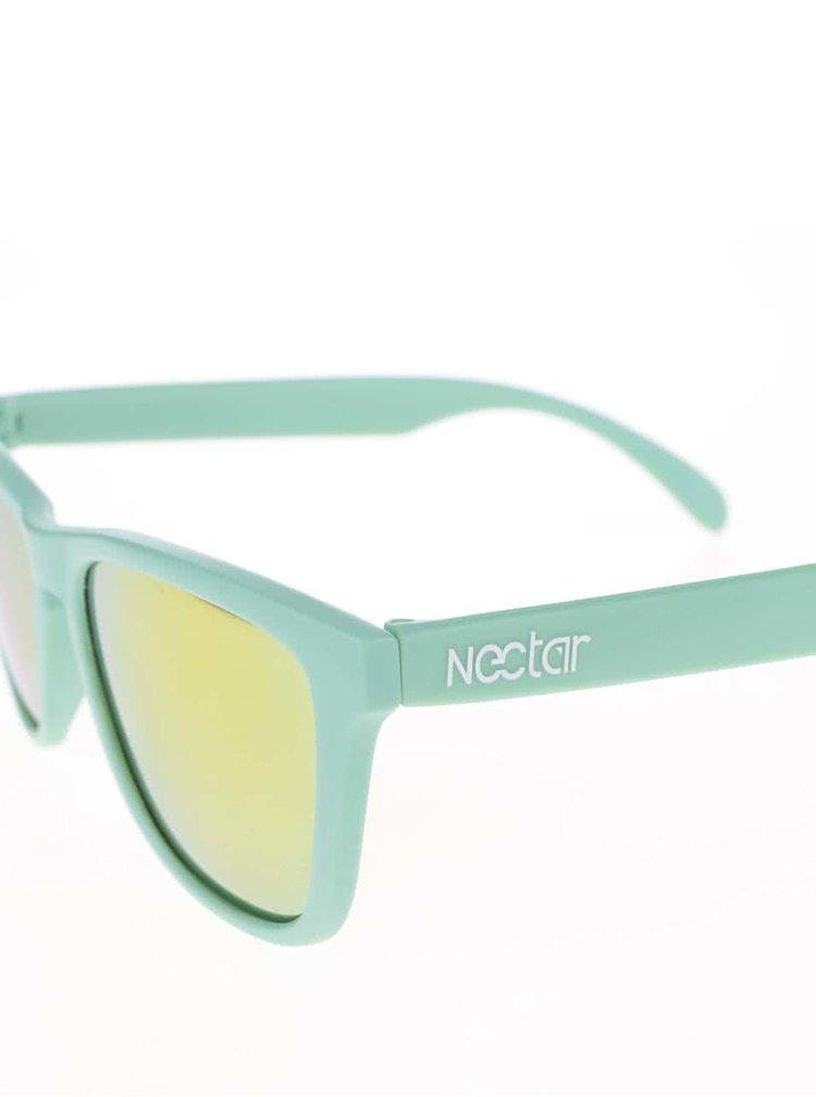 Ochelari de soare Nectar Kiwi unisex verzi