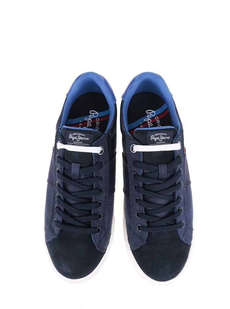 Tmavě modré pánské tenisky Pepe Jeans Coast