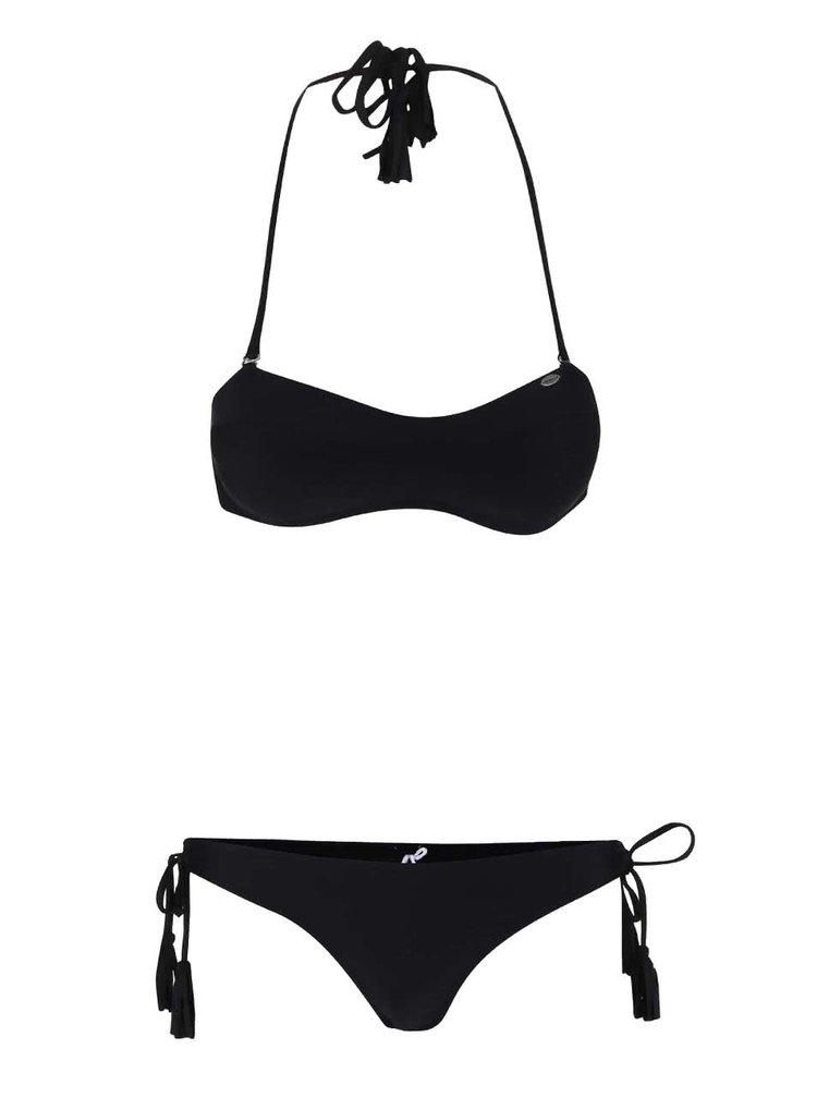 Costum de baie O'Neill Solid Bandeau negru