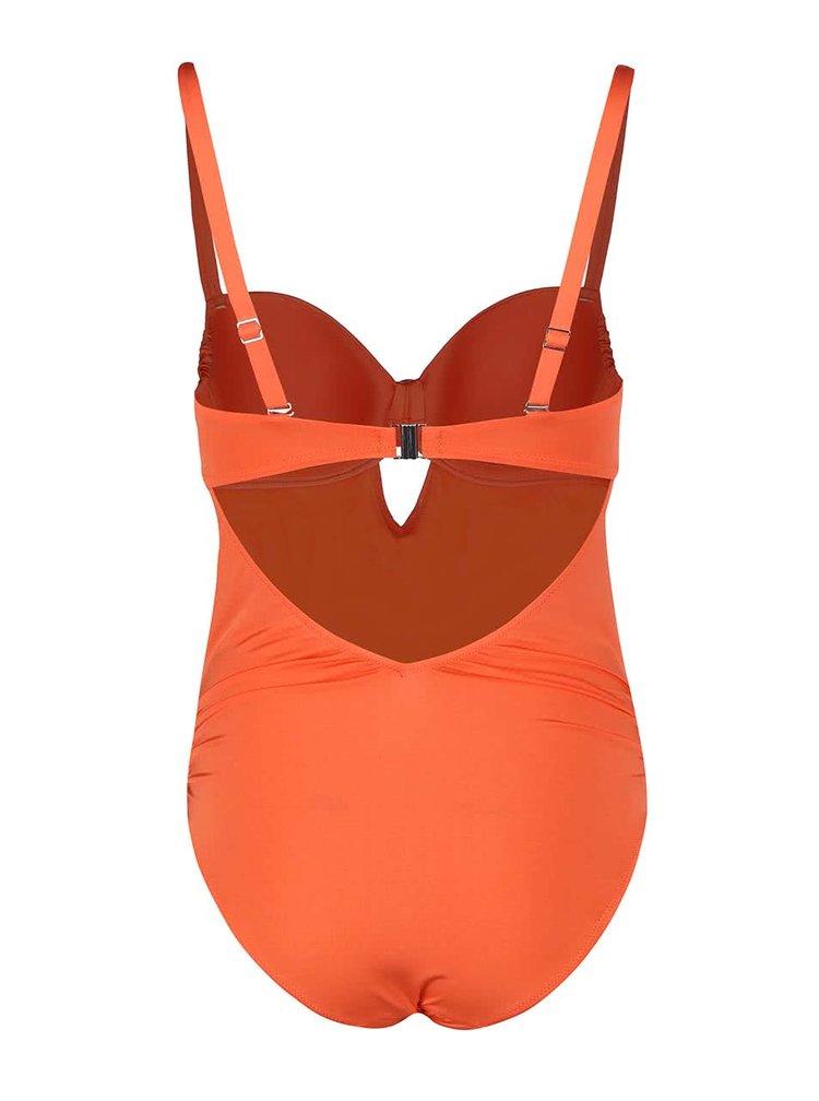 Costum de baie Lisca Barbados portocaliu