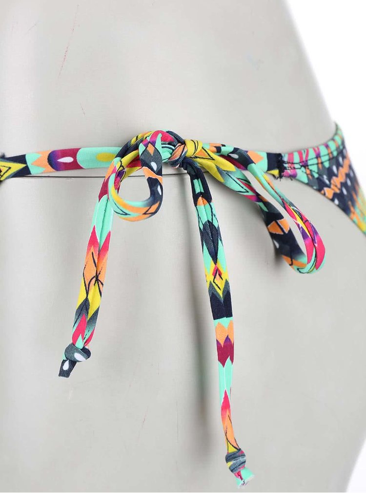 Costum de baie Lisca Zigzag multicolor