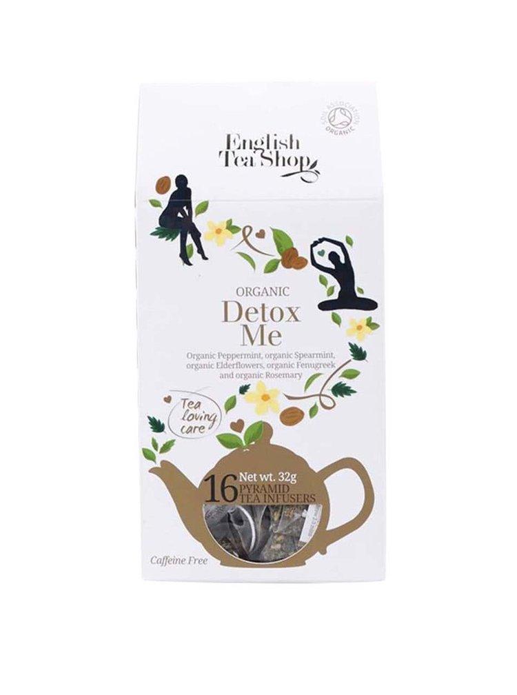 Pyramídový čaj English Tea Shop Detox Me