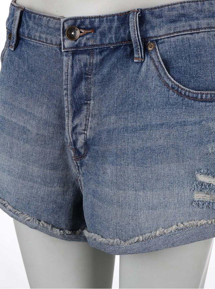 Modré džínové kraťasy Roxy Biker