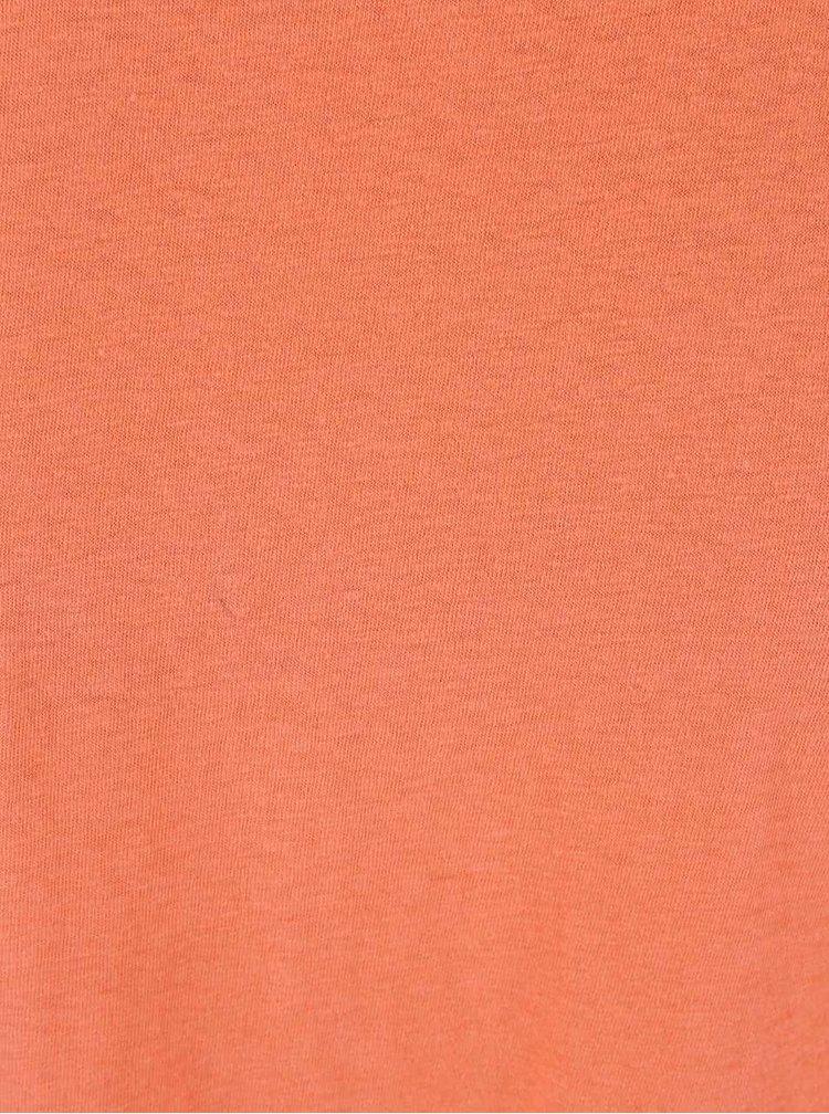Korálové delší tričko Roxy Landfall