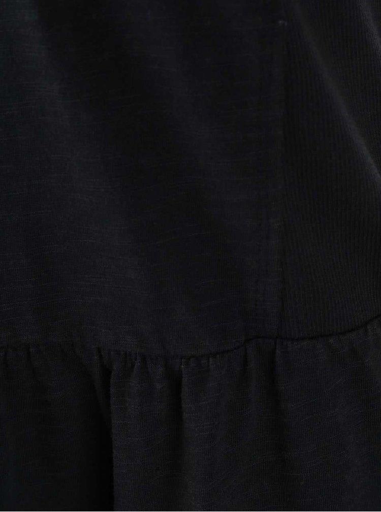 Čierne šaty Roxy Pacific