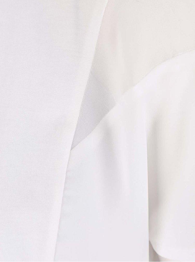 Tricou Maison Scotch alb