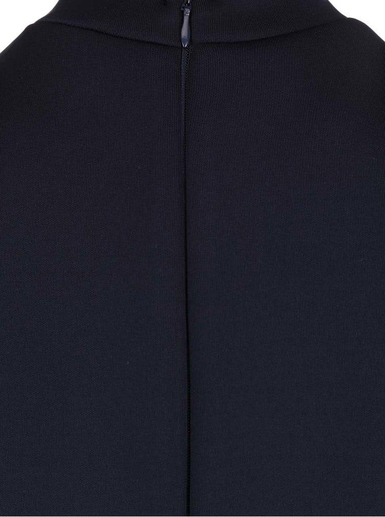 Rochie AX Paris albastru închis, cu guler