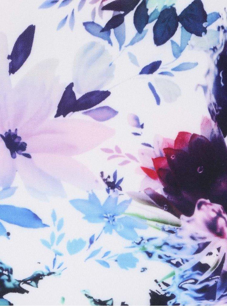 Rochie AX Paris albă cu imprimeu floral