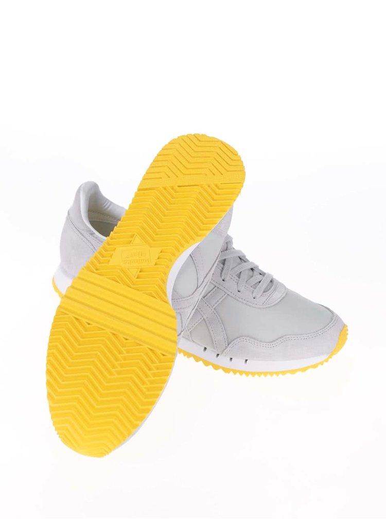 Žluto-šedé pánské tenisky Onitsuka Tiger Dualio