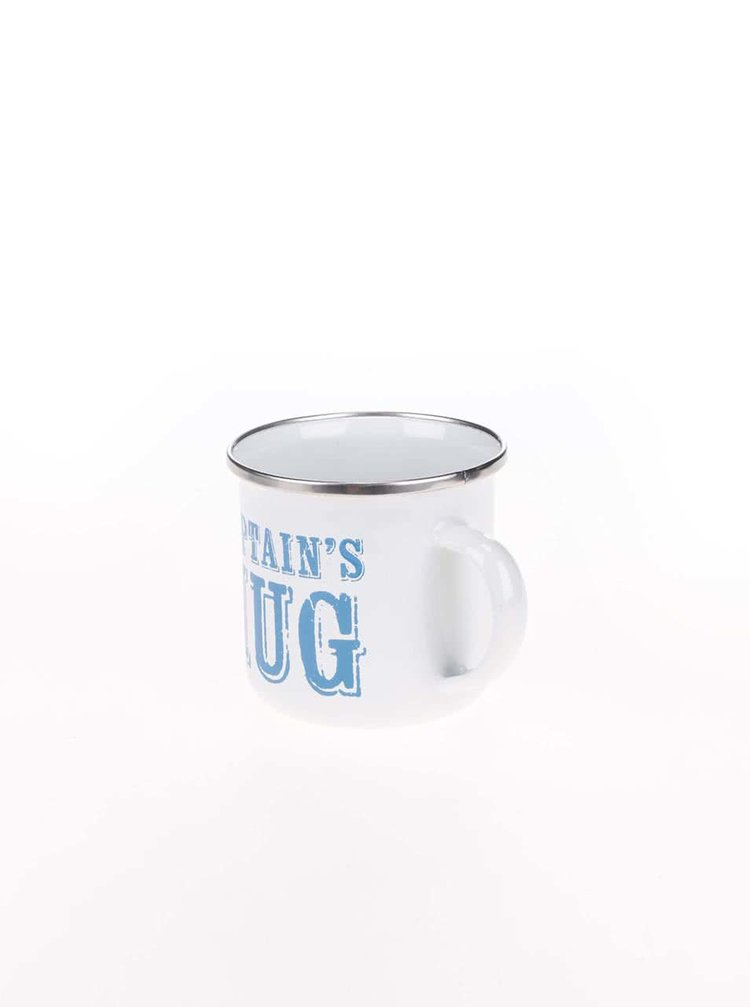 Bílý plechový hrneček Sass & Belle Captain's Mug
