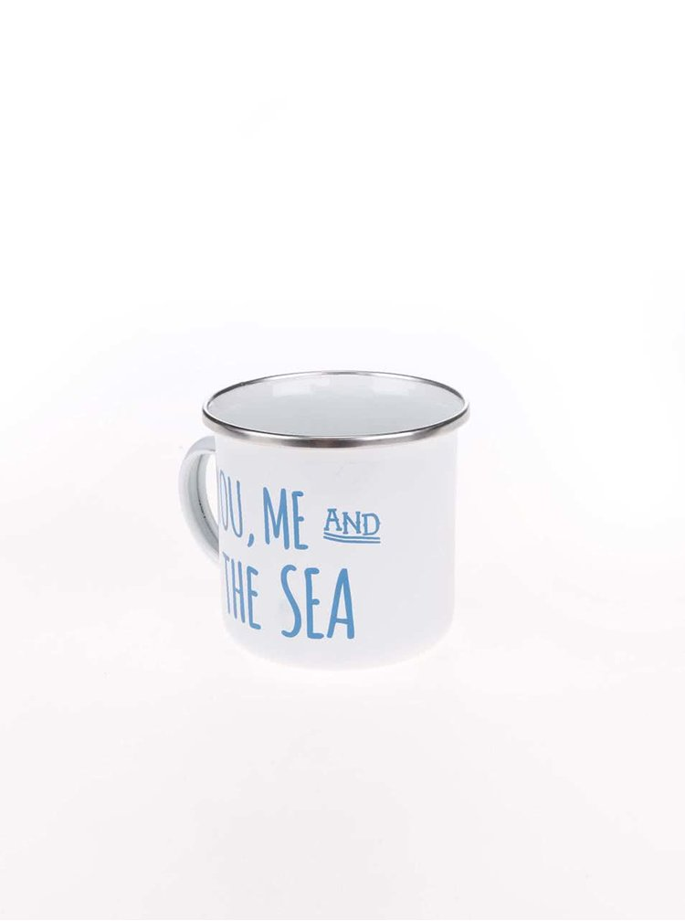 Cana metalica alba Sass & Belle You, Me & Sea