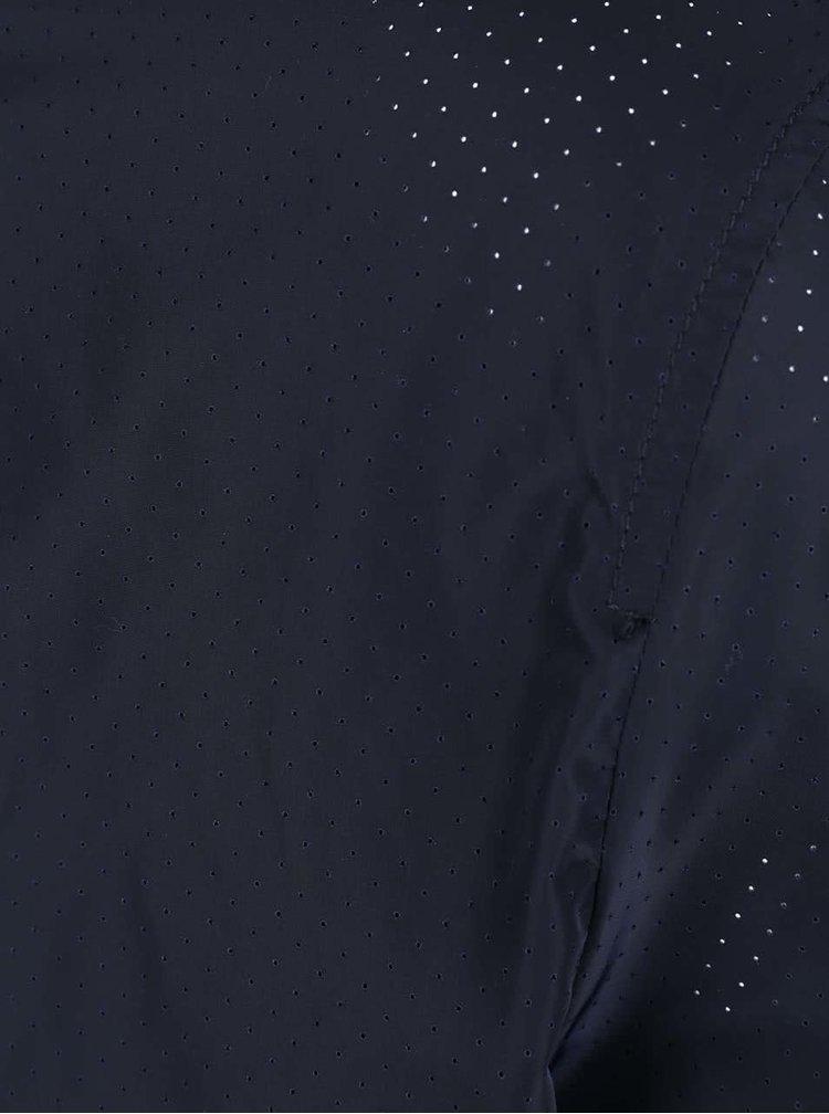 Tmavomodrá šušťáková bunda s kapucňou ONLY & SONS Michael