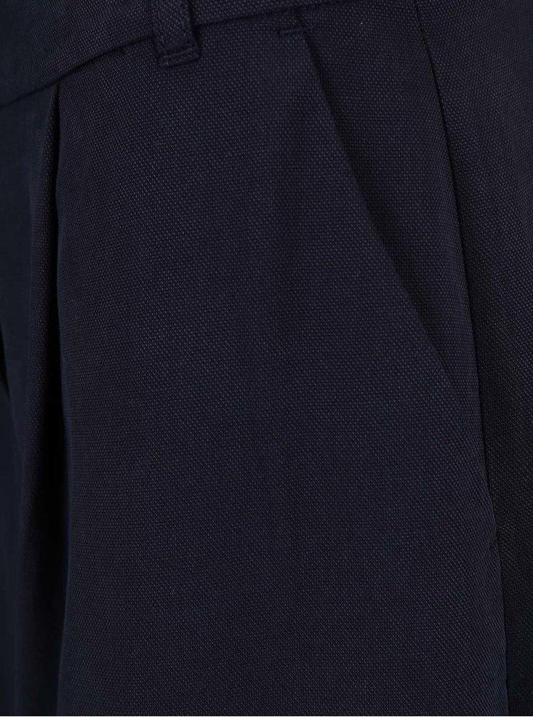 Tmavě modré dámské culotte kalhoty s.Oliver