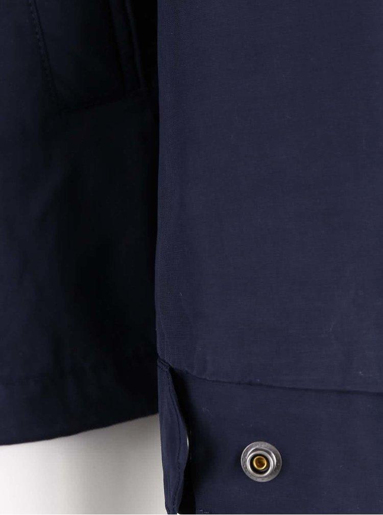 Tmavomodrá pánska bunda GANT