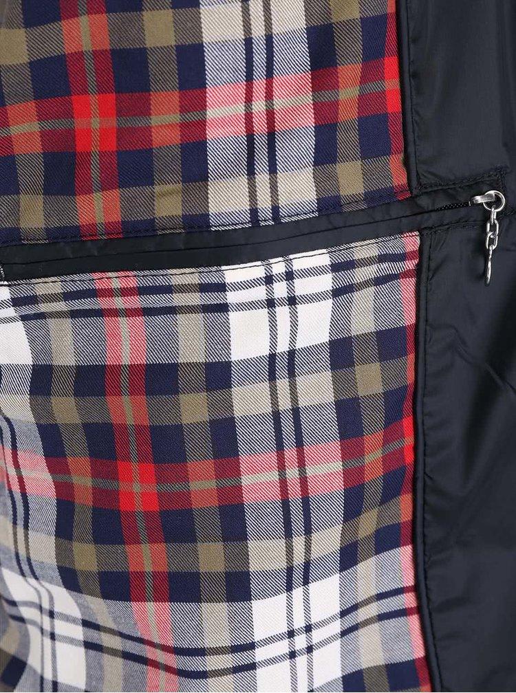 Tmavomodrá prešívaná pánska bunda GANT