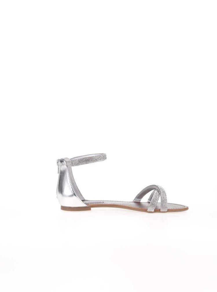 Sandale Steve Madden Zippey argintii